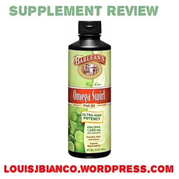 Supplement review barlean s omega swirl liquid fish oil for Barlean s omega swirl fish oil
